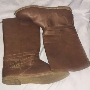 Brown Old Navy Casual Boots